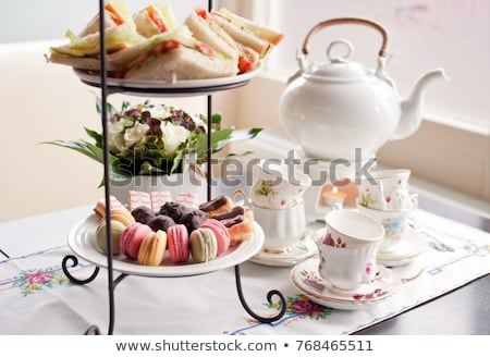 high tea Stock photo © compuinfoto