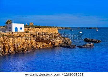 rocky coast of tabarca island stock photo © amok