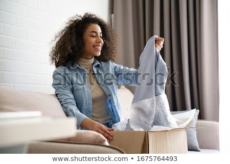 Online shoppers. Stock photo © Fisher