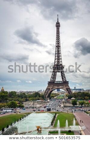 Telescope With Effel Tower Stock photo © searagen