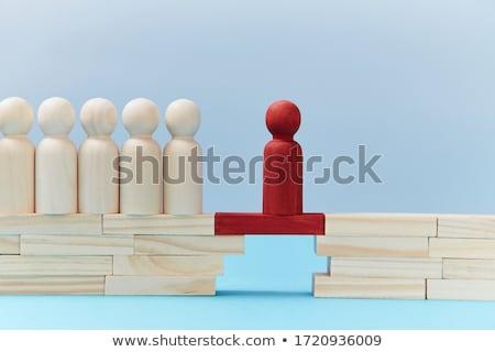 lacuna · negócio · edifício · idéia · ouro - foto stock © lightsource