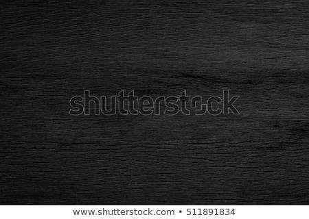 Negro vetas de la madera superficie fotograma completo naturaleza patrón Foto stock © prill
