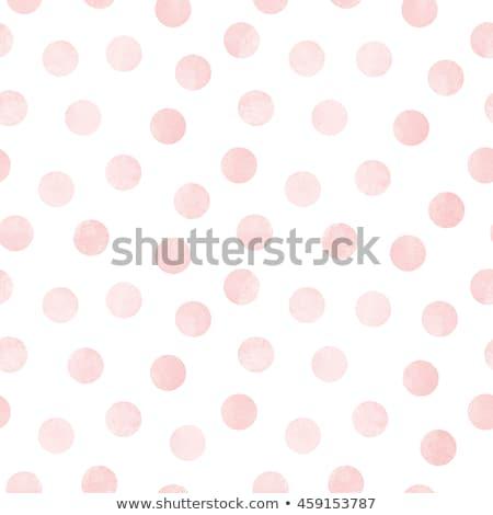 Rózsaszín pöttyös absztrakt fekete minta Stock fotó © njnightsky