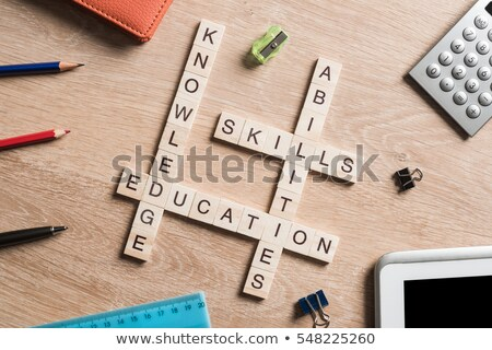 Business Promotion Marketing Strategy Crossword Puzzle Stock photo © cteconsulting