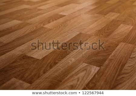 Laminate floor planks and tools on wooden background Stock photo © Virgin