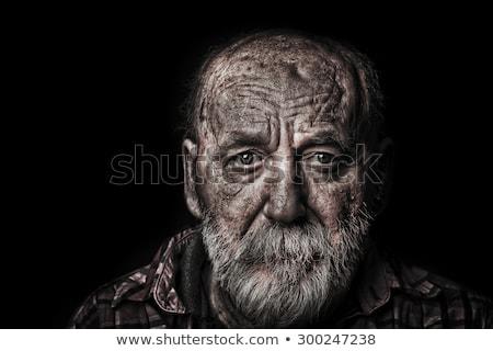 face of beggar  Stock photo © ssuaphoto