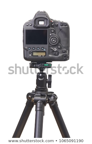 Dslr camera back side on white  Stock photo © manaemedia