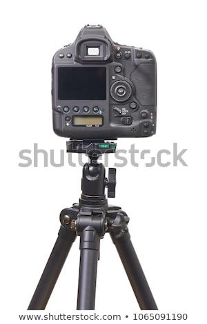 dslr camera back side on white stock photo © manaemedia