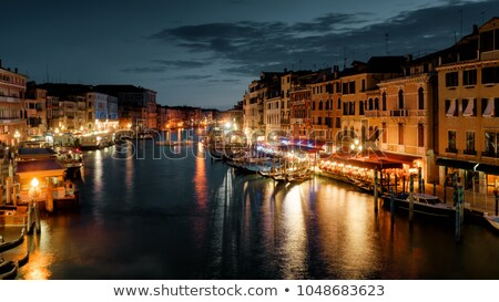Calm night in Venice Stock photo © Givaga