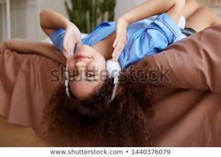 Teenage Girl Lying On Her Bed  stock photo © monkey_business
