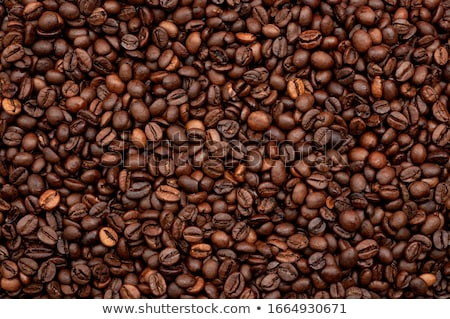 ストックフォト: フルフレーム · ショット · コーヒー豆 · コーヒー · 背景 · エネルギー