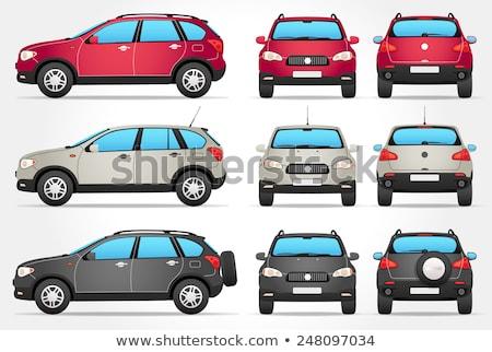 Modelo Perfil Carros Carro Desenho Animado Projetos
