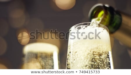 Glasses of wine and sparkling wine Stock photo © Alex9500