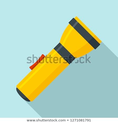 Stock fotó: Elemlámpa · ikon · kör · fény · technológia · művészet