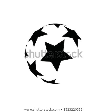 Футбол звездой торжествующий Председатель Сток-фото © Nekiy