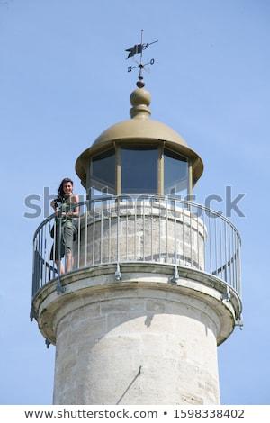 Stock photo: Richard Lighthouse Gironde Department Aquitaine France