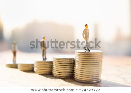 зарплата рост страхования стоить бизнеса фон Сток-фото © AndreyPopov