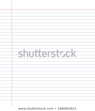 cuaderno · espiral · vector · bloc · de · notas · limpio - foto stock © pathakdesigner