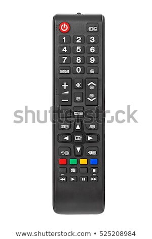 Televízió távirányító gombok fekete billentyűzet kommunikáció Stock fotó © deyangeorgiev