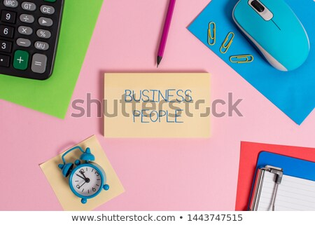 Artisan clock showing Stock photo © photography33
