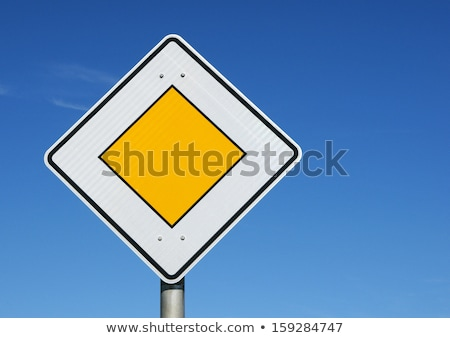 優先 交通標識 孤立した 白 金属 にログイン ストックフォト © prill