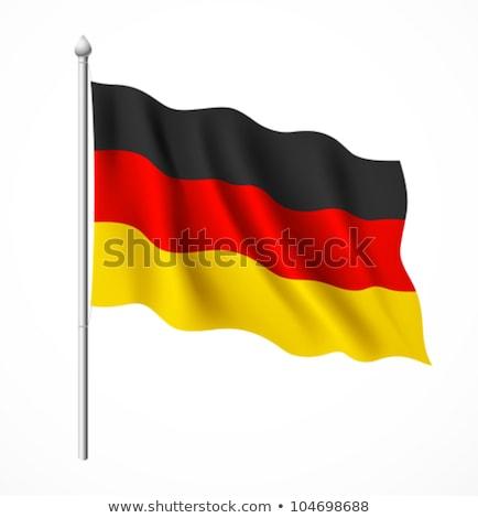 Political Waving Flag Of Germany Stok fotoğraf © Sarunyu_foto