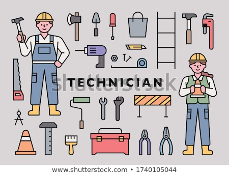 Worker with ax Stock photo © photography33