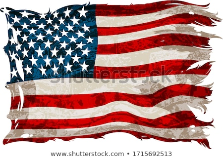 Ragged Flag Stock photo © chrisbradshaw
