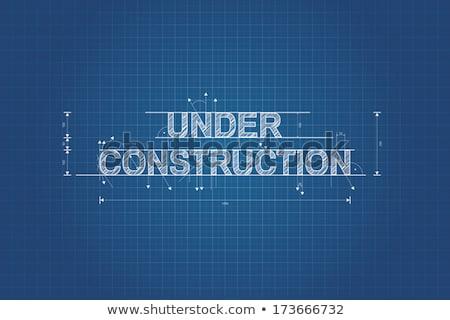 architecte · ingénieur · permanent · image - photo stock © krabata