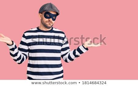 Confused burglar Stock photo © stevanovicigor