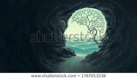 духовность · поклонения · символ · человека · Top · горные - Сток-фото © lightsource