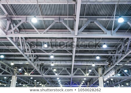 Roof of large modern storehouse Stock photo © rufous