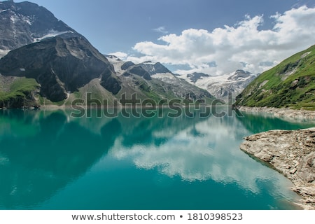 Aerial view of Austrian Alps in Summer (near Zell am See) Stock photo © Bertl123