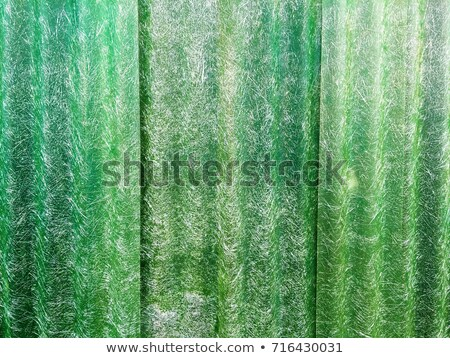 Translucent roofing sheet isolated on white background Stock photo © JohnKasawa