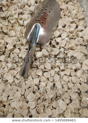 Nyers ravioli fa tojás tészta szakács Stock fotó © M-studio
