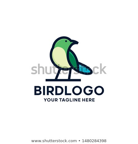 stylised bird Stock photo © Krisdog