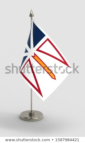 Miniature Flag of Newfoundland Stock photo © bosphorus