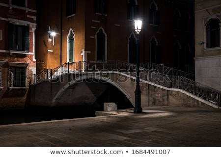night in venice stock photo © sailorr