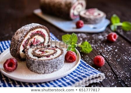 Coconut roll cake stock photo © joruba
