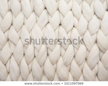 woven wool background stock photo © zhekos