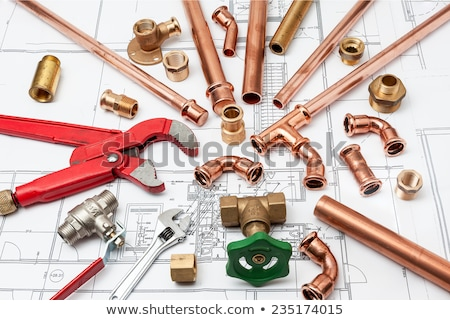 сантехники · инструменты · строительство · ремонта · служба - Сток-фото © cherezoff
