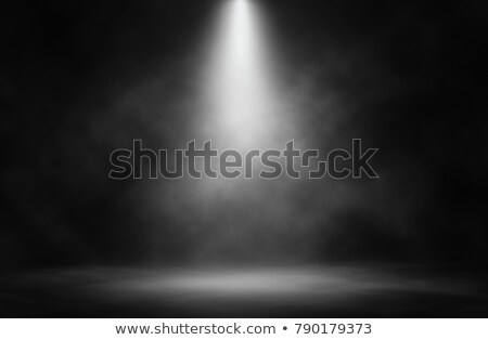 Stock photo: Empty stage with lights