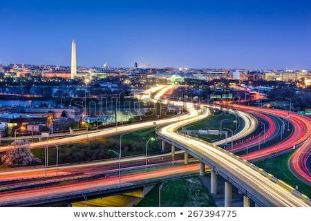 Washington · Anıtı · panorama · Washington · DC · Özel · hizmet · silahlı · kuvvetler - stok fotoğraf © alex_grichenko