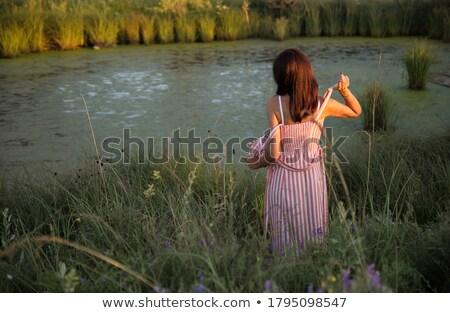 Mulher fabuloso corpo senhora cara feminino Foto stock © majdansky