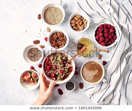Healthy muesli Stock photo © andreasberheide