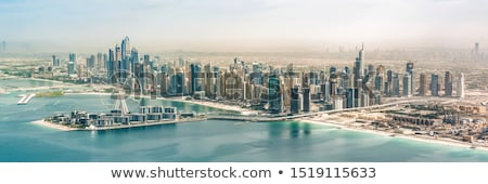 Panoramica view Dubai casa città costruzione Foto d'archivio © vwalakte