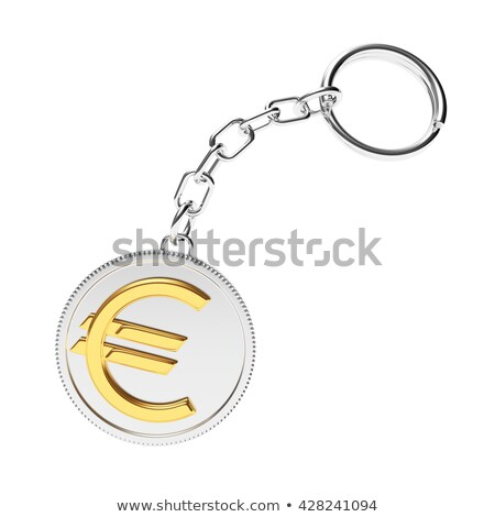 keys to profit concept on golden keychain stock photo © tashatuvango