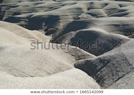 Stock photo: Loam landscape in Spain