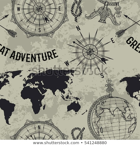 Мир · карта · глобусы · вектора · земле - Сток-фото © voysla