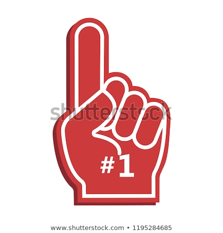 1 Number Vector Red Web Icon Stock photo © rizwanali3d